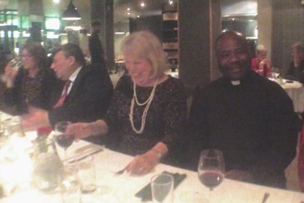 Clare, David, Marianne & Fr Romanus