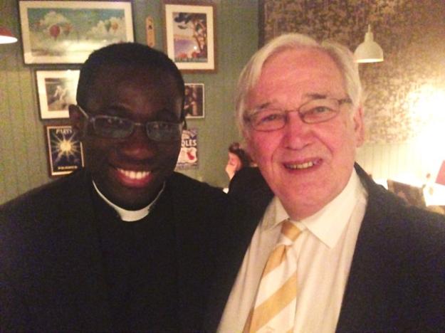 Fr Joe with Terry