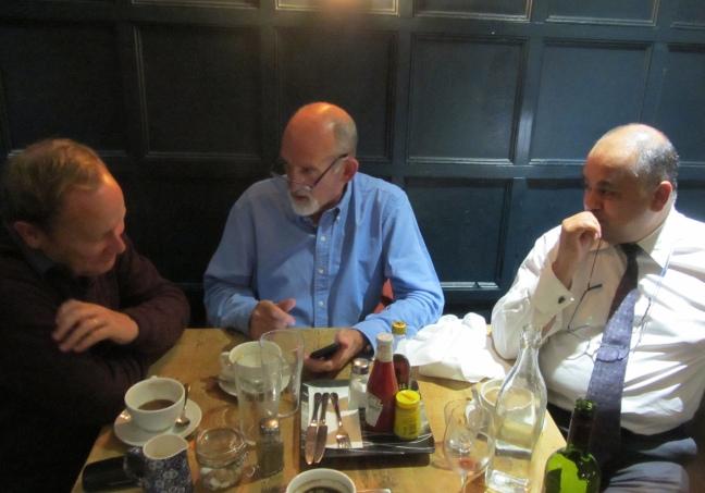 John, Noel and Nader