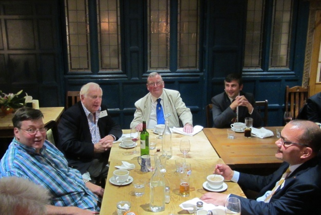 From left: David Prebble, Jim Begley, Bill Gallagher, Kevin Rourke and Patrick Neal