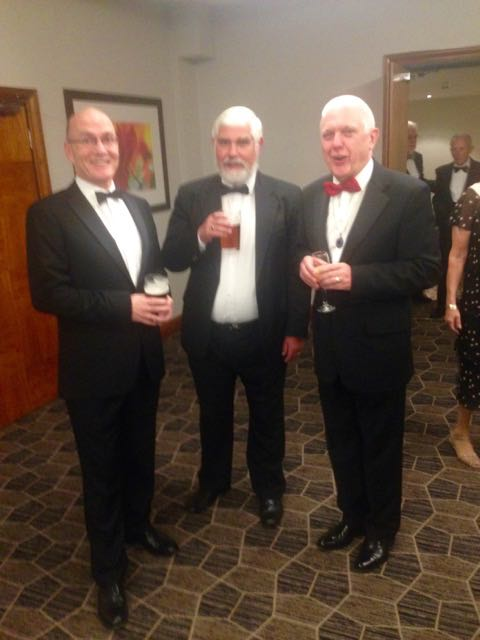 Richard with Andrew Denore from Croydon Circle and Province Director David Arundale